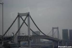 Tokyo über diese brücke lief ich im sommer